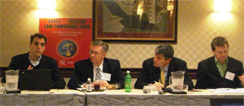 Panelists at a conference Thursday discuss the merits of broadband and Net neutrality legislation.