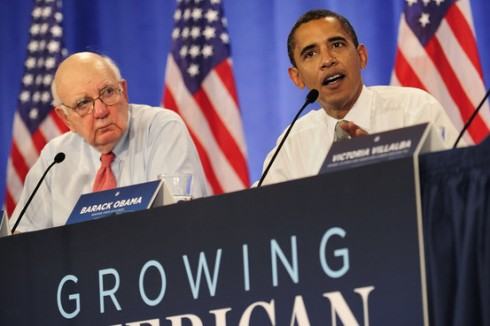 President-elect Obama will appoint Paul Volcker to head an advisory board.