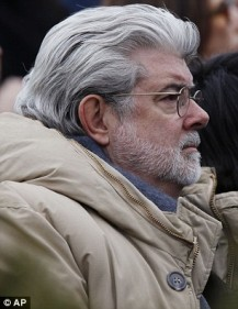 Star Wars filmmaker George Lucas was in the crowd, and Oscar winner Queen Latifah spoke from the podium